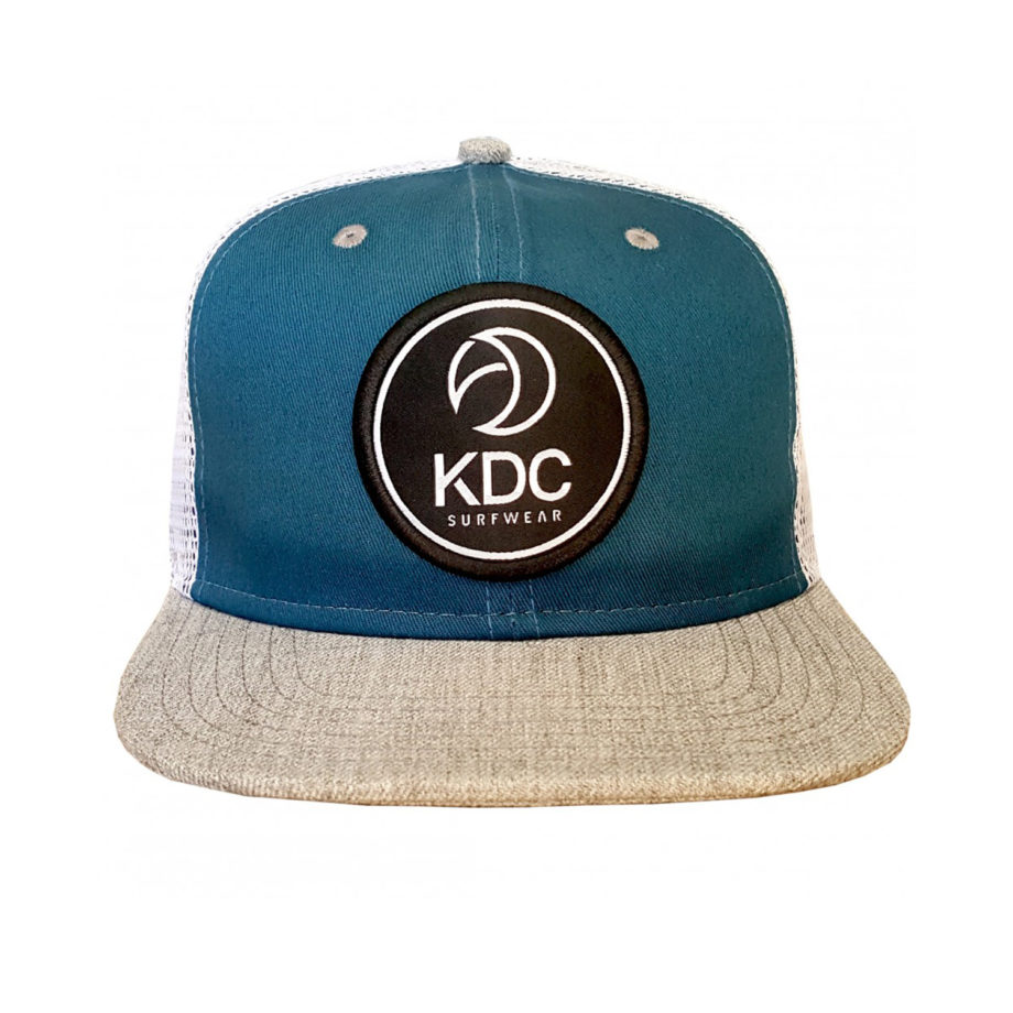 casquette-kdc-surfwear-surf-kitesurf-snapback-blue