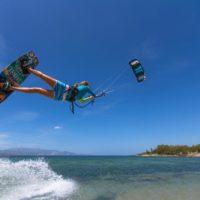 delphine macaire kitesurf
