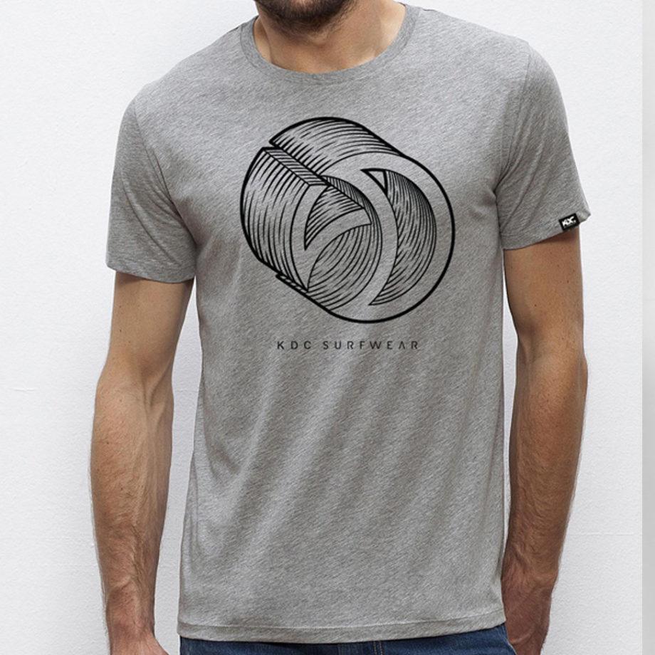 Tshirt KDC surfwear logo 3D