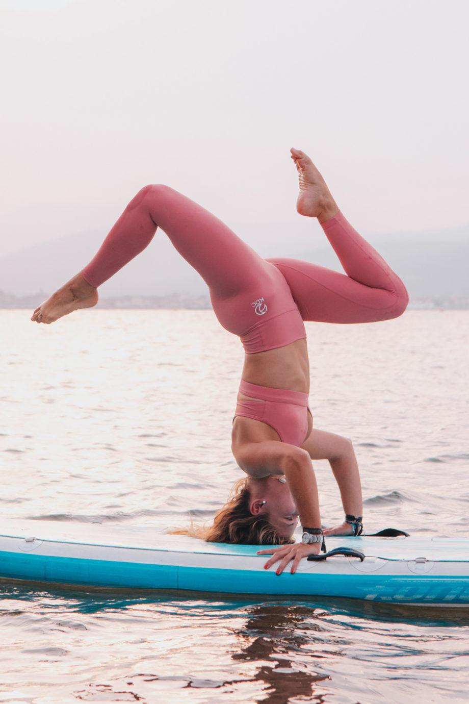 yoga paddle recyclé