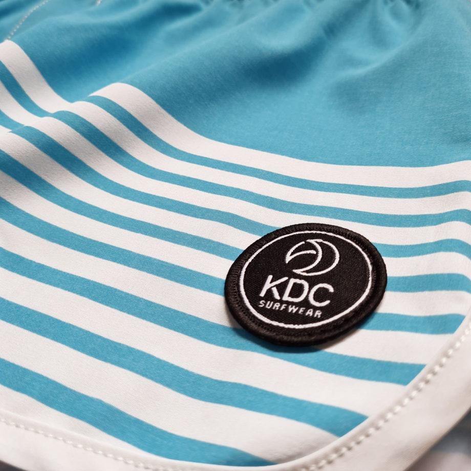 Boardshort femme tissus recyclé electric logo KDC