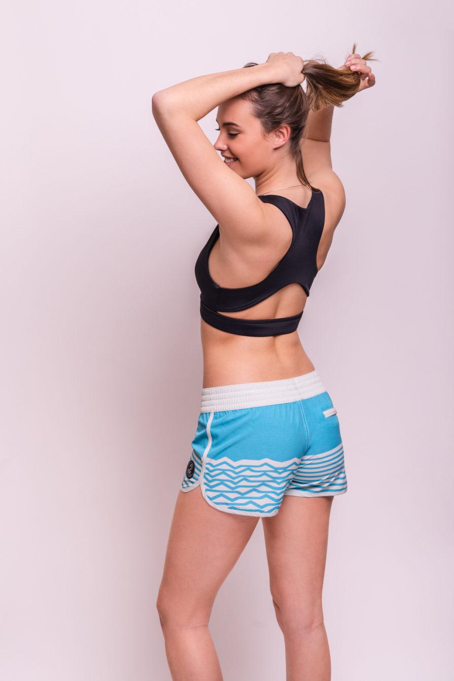 Boardshort femme tissus recyclé back