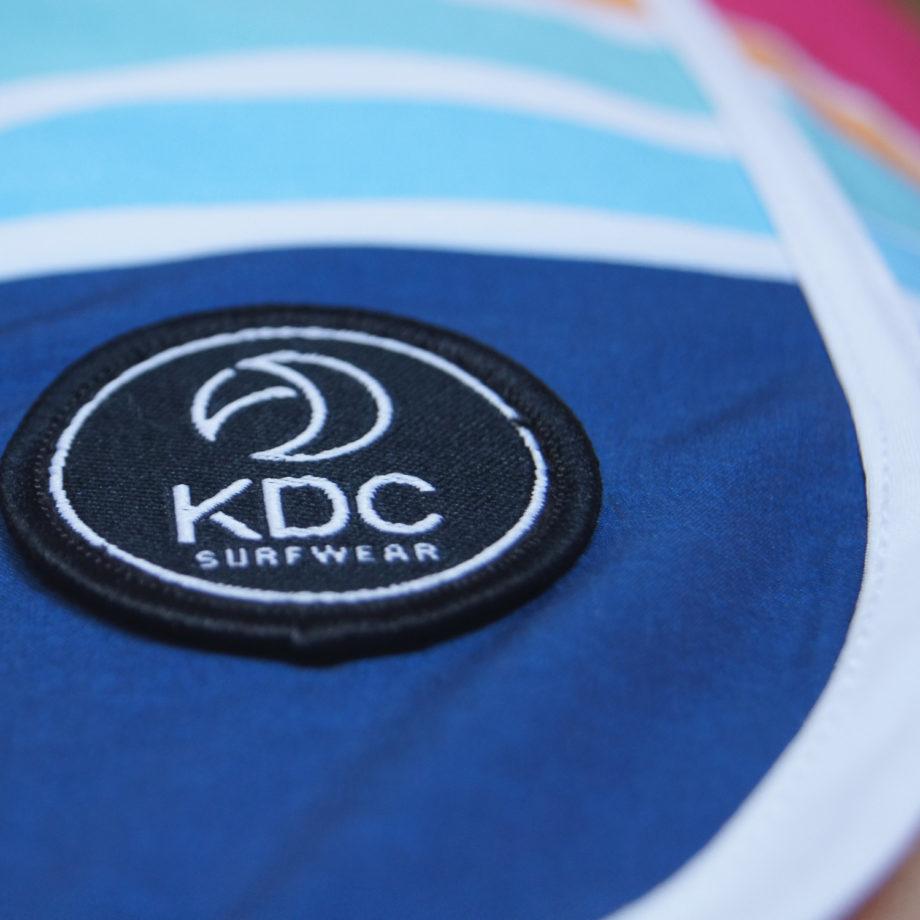 Boardshort surf logo tissus recycle