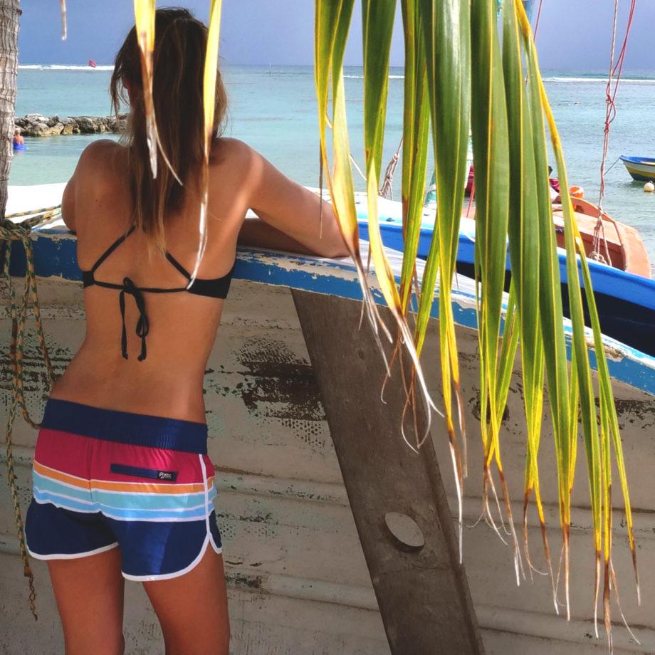 Boardshort surf femme sunrise
