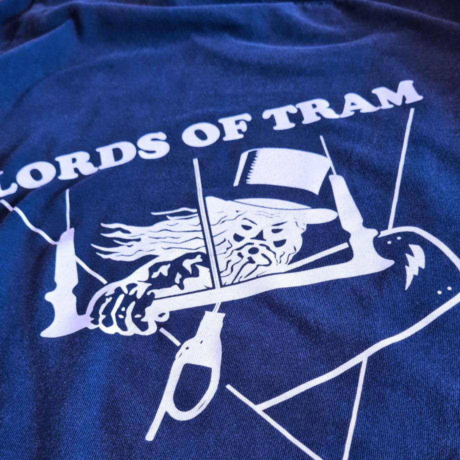Tshirt Lords of Tram logo